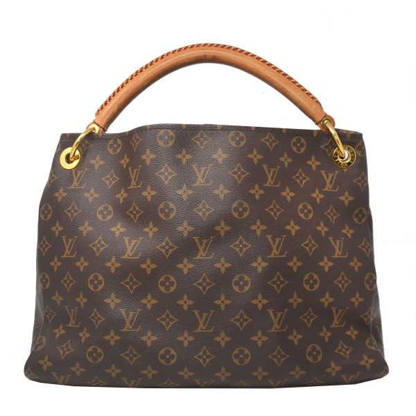Louis Vuitton Artsy MM Monogram Canvas Hobo Bag