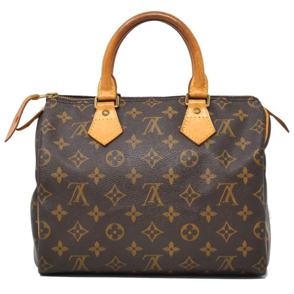 Louis Vuitton Speedy 25 Monogram Canvas Handbag
