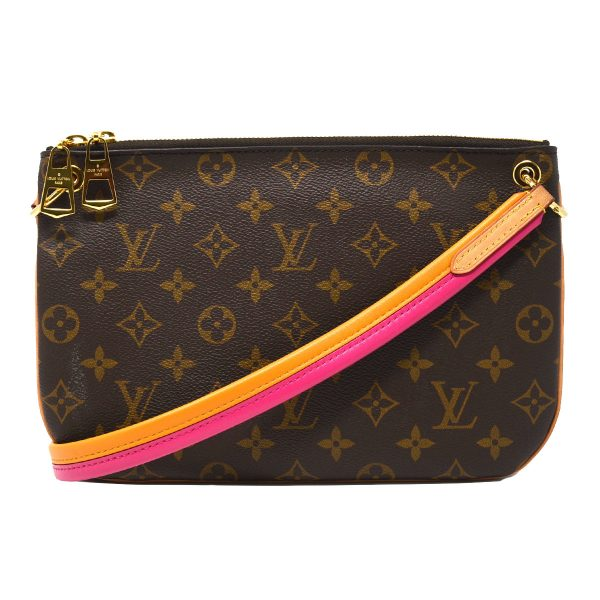 Louis Vuitton Lorette Monogram Canvas Leather Shoulder Bag