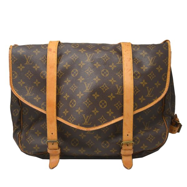 Louis Vuitton Saumur 43 Monogram Canvas Crossbody Bag