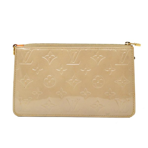 Louis Vuitton Beige Lexington Monogram Vernis Leather Pouch (NO STRAP)