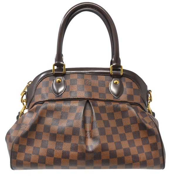 Louis Vuitton Trevi PM Damier Ebene Canvas Shoulder Bag
