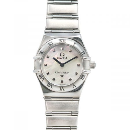 Omega Constellation My Choice Mini Mother of Pearl Dial Stainless Steel Watch