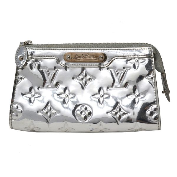 Louis Vuitton Mirror Miroir Trousse Silver Metallic Cosmetic Bag