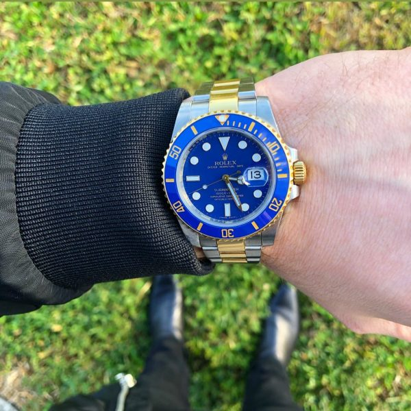 rolex 116613 two tone ceramic submariner