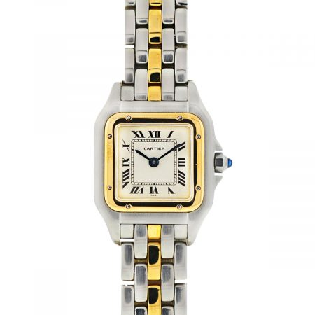 Cartier 1120 Panthere Small Two-Tone Stainless Steel Quartz 22mm Ladies Watch
