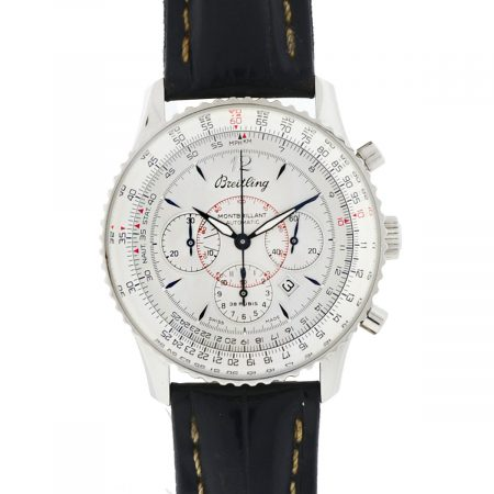 Breitling A41330 Navitimer Montbrillant Chronograph Stainless Steel Watch