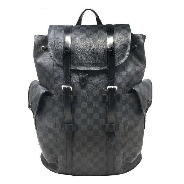 Louis Vuitton Damier Graphite Christopher PM Backpack