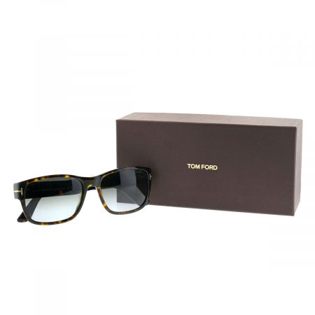 Tom Ford Mason TF 445 52B Dark Havana Rectangle Men's Sunglasses