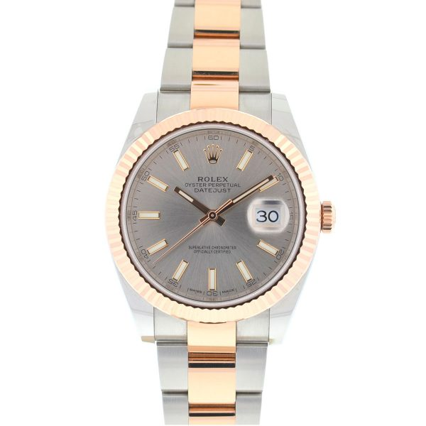 Rolex 126331 Datejust II 41 Two Tone Rose Gold Stainless Steel Men's Watch