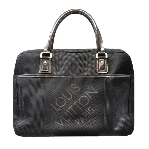 Louis Vuitton Black Yack Damier Geant Document Business Bag