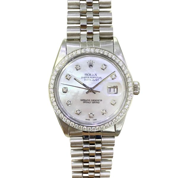Rolex 16030 Datejust Stainless Steel Jubilee Bracelet Automatic Watch