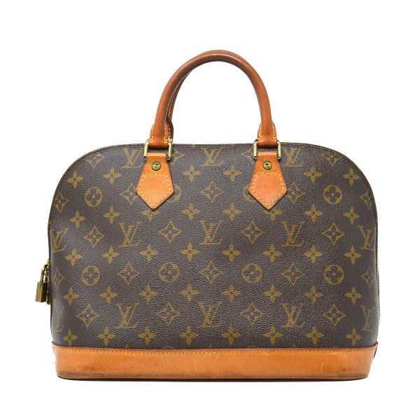 Louis Vuitton Alma PM Monogram Canvas Handbag