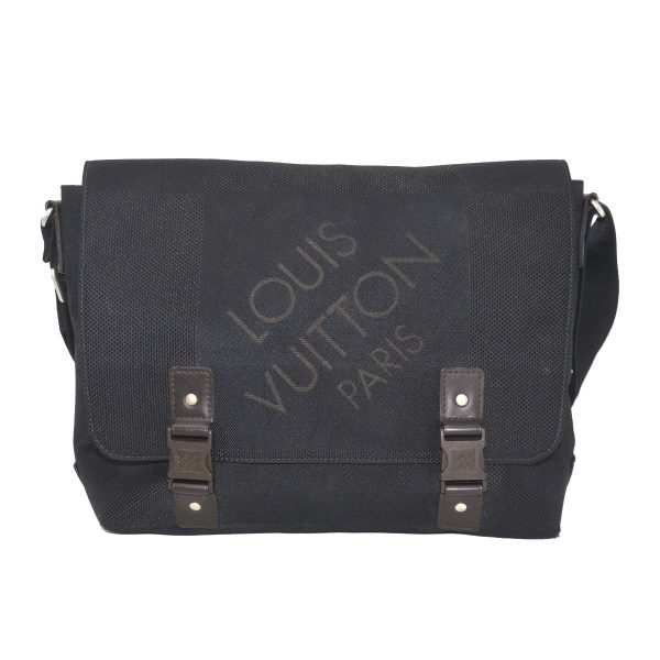Louis Vuitton Black Loup Damier Geant Canvas Messenger Bag