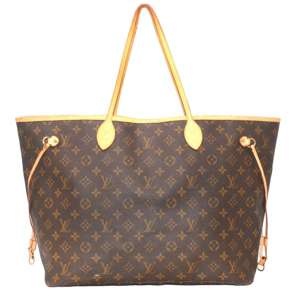 Louis Vuitton Neverfull GM Monogram Canvas Tote Shoulder Bag