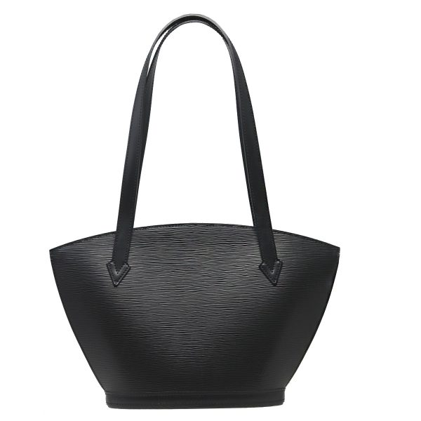 Louis Vuitton Black Saint Jacques PM Epi Leather Top Handle Tote Bag