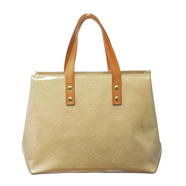 Louis Vuitton Beige Reade PM Monogram Vernis Patent Leather Tote Bag