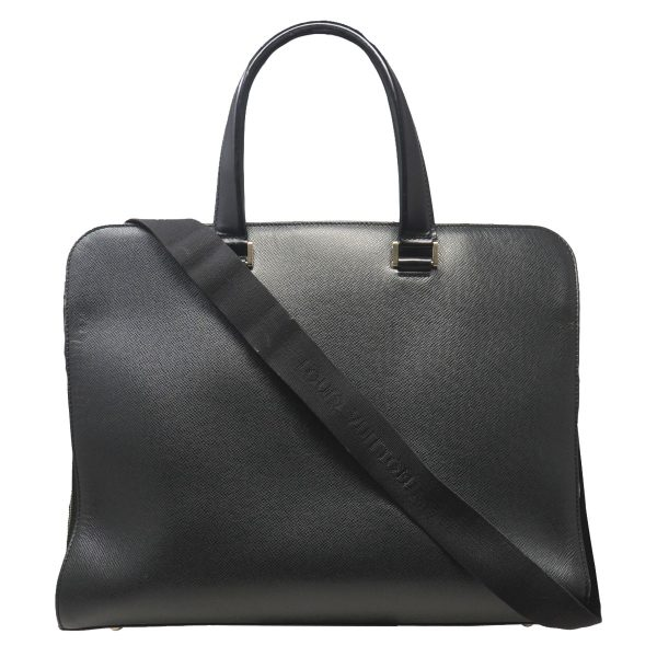 Louis Vuitton Black Nevsky Taiga Leather Men's Business Bag