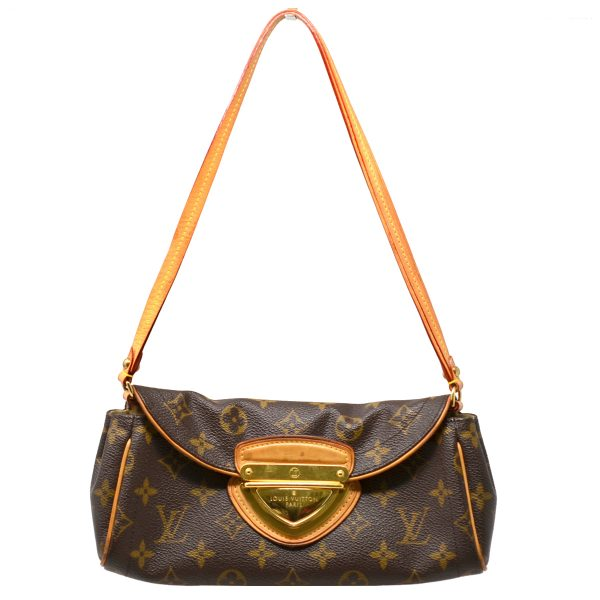 Louis Vuitton Beverly Monogram Canvas Pochette Clutch Shoulder Bag
