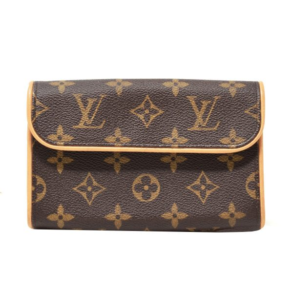 Brown Florentine Extra Small Monogram Canvas Fanny Pack Belt