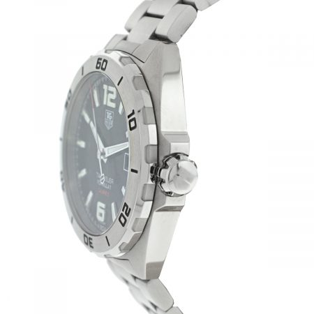 Tag Heuer WAZ2113 Formula 1 Calibre 5 Black Dial Stainless Steel Automatic Watch