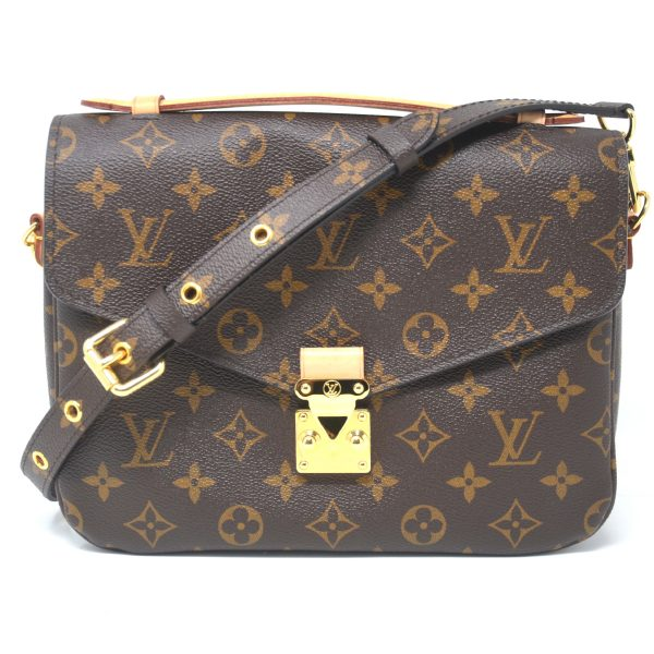 Louis Vuitton Monogram Canvas Pochette Metis Crossbody Bag
