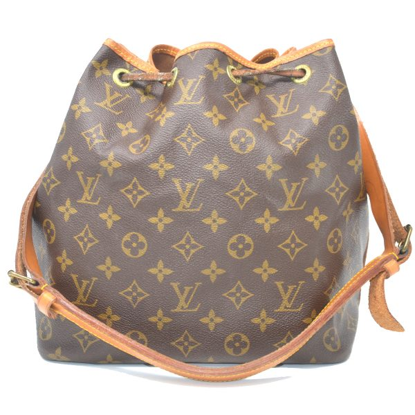 Louis Vuitton Monogram Canvas Petit Noe Shoulder Bag