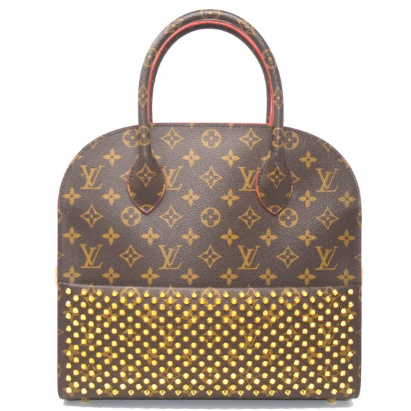 Louis Vuitton Limited Edition Christian Louboutin Iconoclasts Monogram Tote