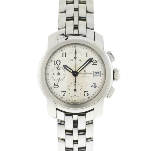 Baume et Mercier Capeland Chronograph Stainless Steel Automatic Watch