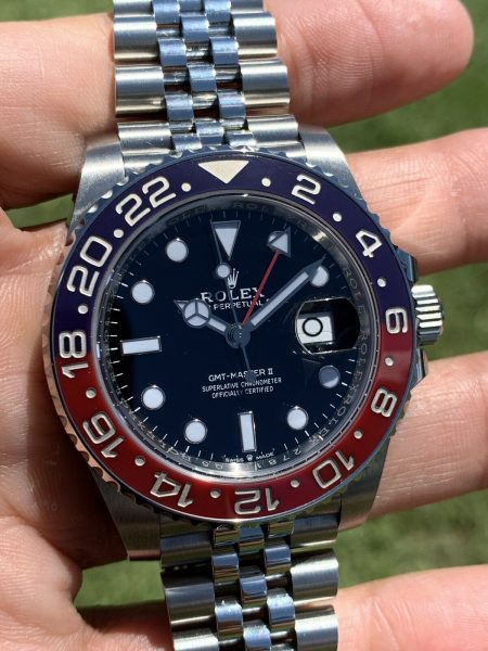 Rolex GMT-Master II 126710BLRO Pepsi Stainless Steel Watch New style Card 2020