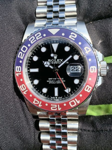 Rolex GMT-Master II Pepsi 126710BLRO Stainless steel Watch