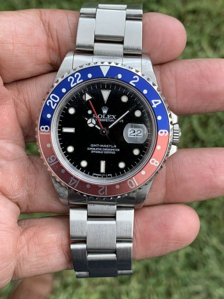 Rolex GMT-Master Pepsi 16700 Stainless Steel Automatic Watch