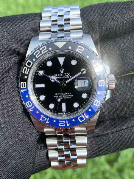 Rolex GMT-Master II 126710BLNR Stainless Steel Automatic Watch