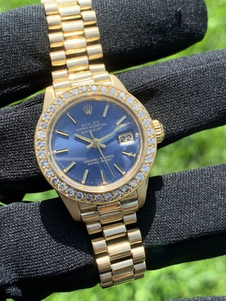 Rolex 6917 18k Yellow Gold Ladies President Automatic Watch