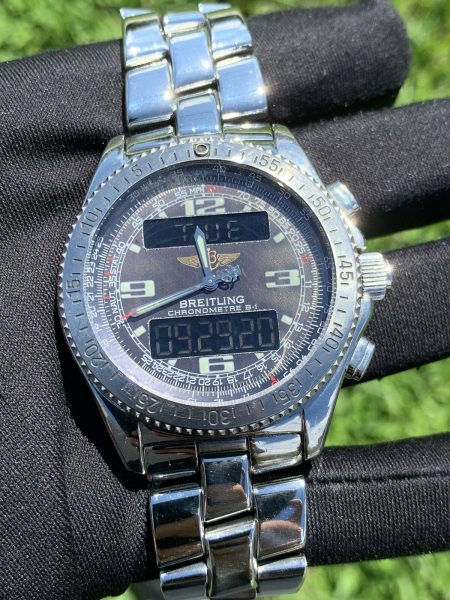 Breitling Chronometre B-1 Stainless Steel Men's Watch