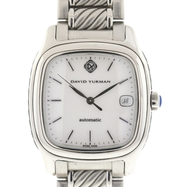 David Yurman Thoroughbred T301-LST Stainless Steel Automatic Watch