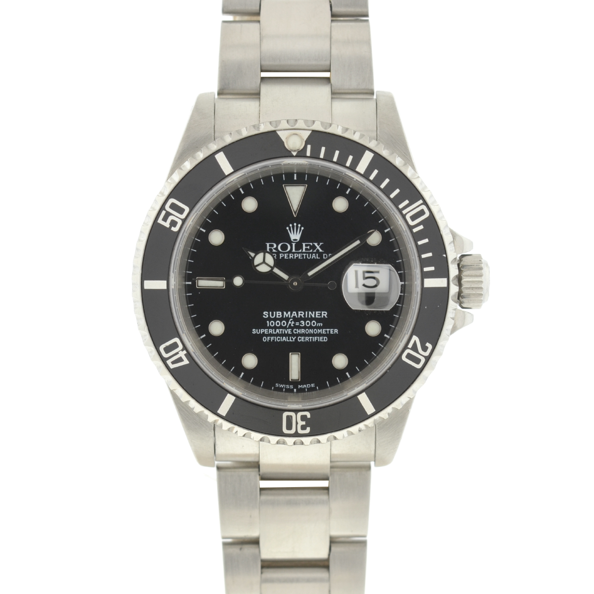 Rolex 116610 Submariner Stainless Steel Black Dial Automatic Men's Watch