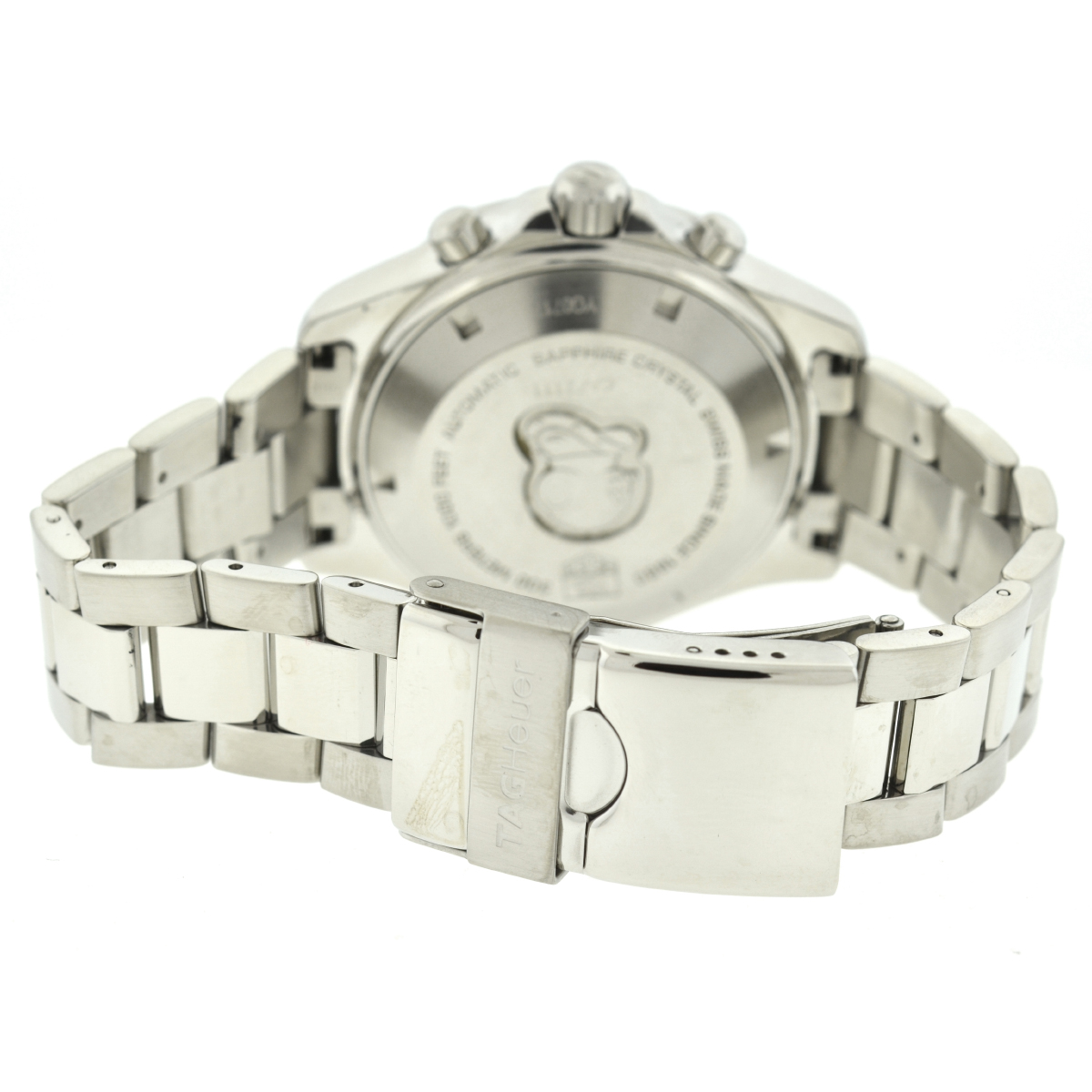 Tag Heuer CAF2111 Aquaracer Stainless Steel Men's Automatic Watch