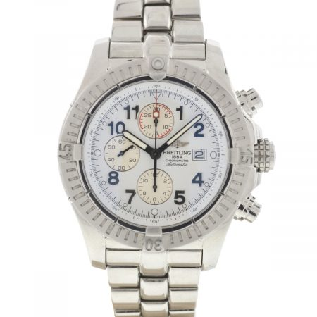 Breitling Super Avenger A13370 48mm Stainless Steel Automatic Men's Watch
