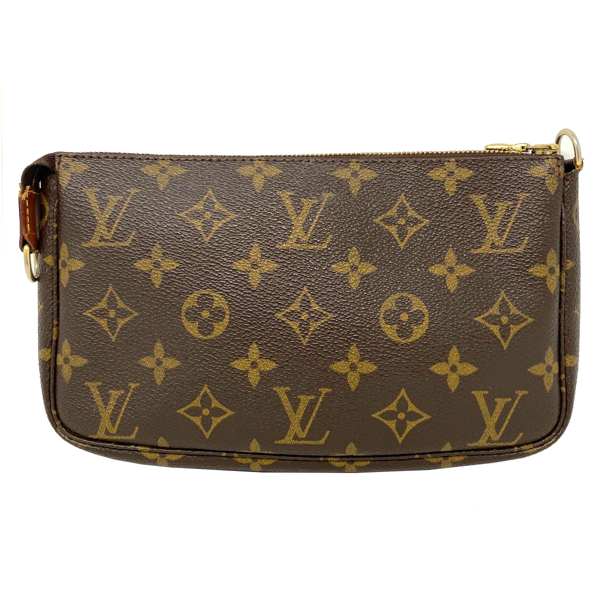 Louis Vuitton Monogram Pochette Pouch Clutch Handbag