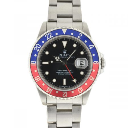 Rolex 16700 GMT-Master Pepsi Stainless Steel Automatic Men's Watch
