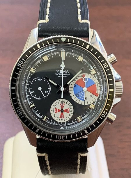 Yema Yachtingraph Chronograph Stainless Steel Automatic Watch