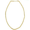 """10k Yellow Gold 5.32mm Rope Chain Necklace approx. 23"""""""