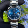 Rolex 115200 Datejust Blue Stick Dial Oyster Bracelet Stainless Steel Watch