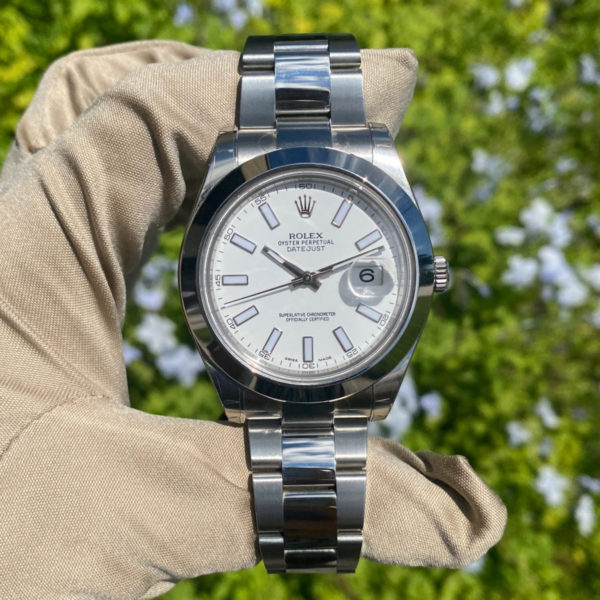 Rolex 116300 Datejust II White Stick Dial Stainless Steel Watch NEW OLD STOCK