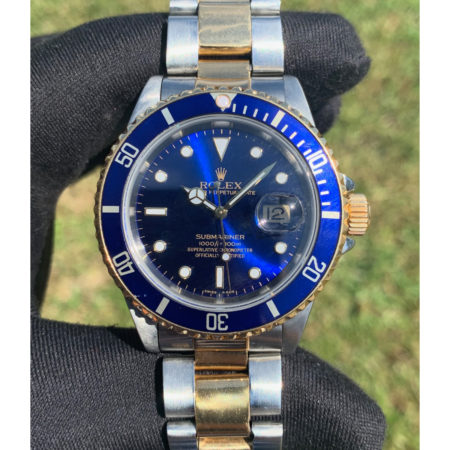 Rolex 16613 Two Tone Submariner Automatic Watch